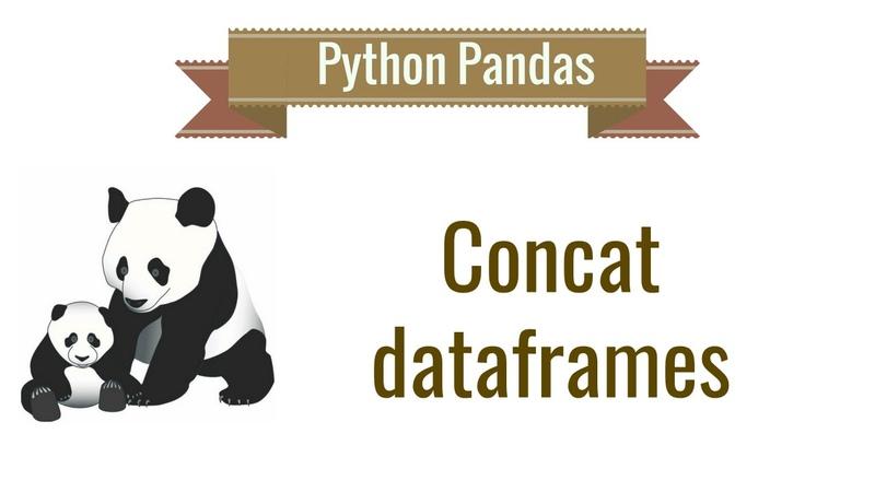 Python Pandas Tutorial 8 Concat Dataframes
