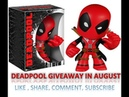 Free Deadpool Giveaway My Geek Box August 2018 Mars Unboxing