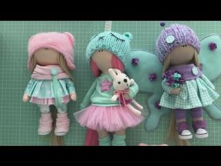 Кукла из ткани - обзор разных технологий, выкроек и материалов