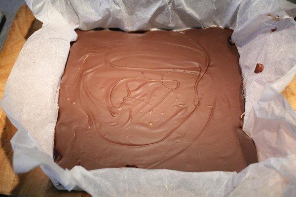 Домашний торт Твикс, изображение №19