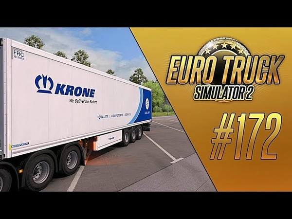 НОВАЯ ГРАФИКА И KRONE TRAILER PACK - Euro Truck Simulator 2 (1.32.3.4s) [172]