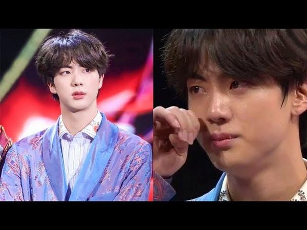 Jin se volvió tendencia en China por sus lágrimas en los MAMA 2018