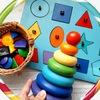 Деревянные развивающие игрушки | детские книги