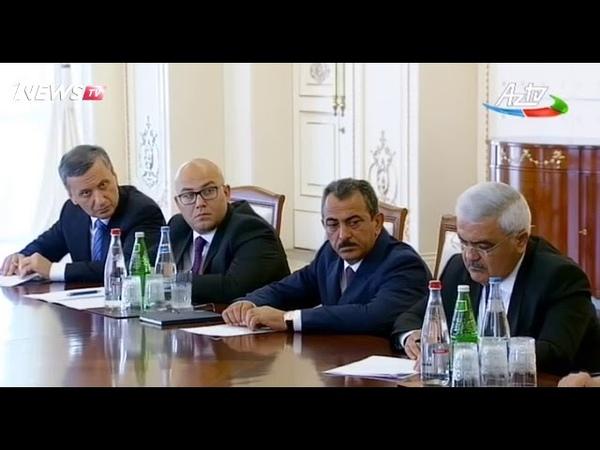 Prezident İlham Əliyevin yanında ölkənin enerji sistemində vəziyyətlə əlaqədar müşavirə