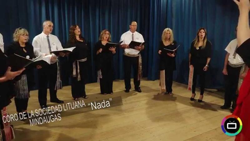 Coro De La Sociedad Lituana Mindaugas Nada