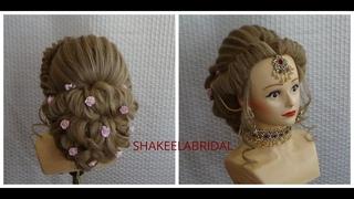 Party/ Bridal   Hairstyle By Shakeela Saleemi