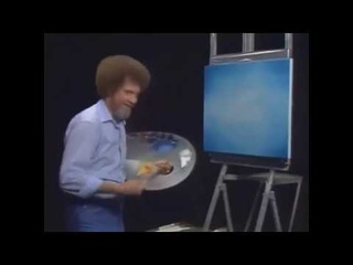 Bob Ross - Beat the devil out of it