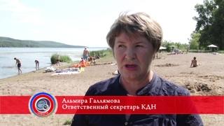 Проблемы пляжного сезона в Заинске