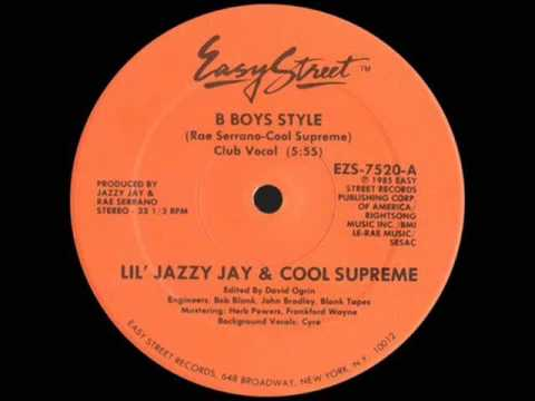 Lil Jazzy Jay Cool Supreme - B-Boys Style