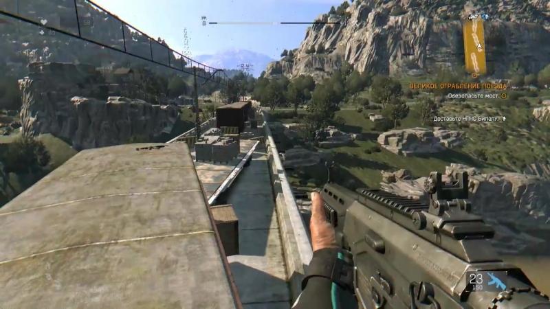 Dying Light- The Following (HD 1080p) - Великое ограбление поезда - прохождение _HD.mp4