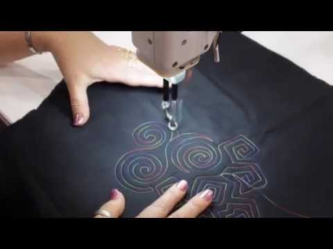 HQ Sweet Sixteen Sunday - Quilting Swirls with Helen Godden
