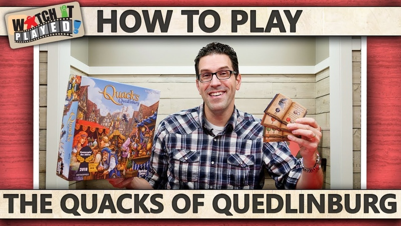 The Quacks Of Quedlinburg How To Play