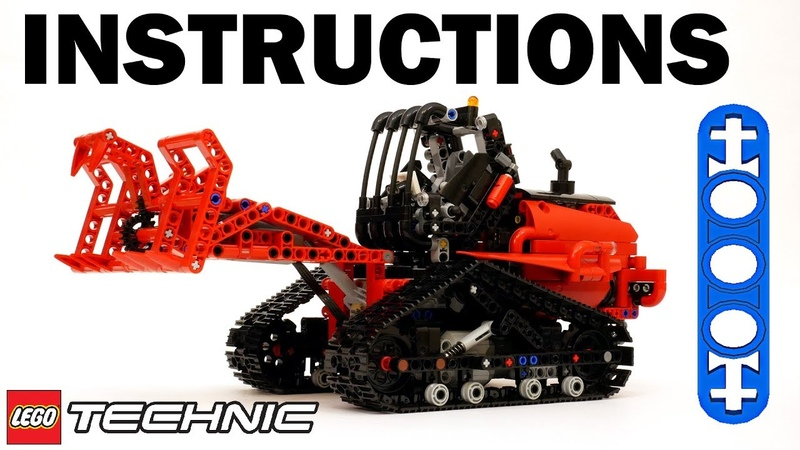 Lego Technic 42094 Motorized Tracked Loader Instructions