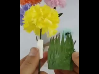 Сколько же способов сделать классные цветы!