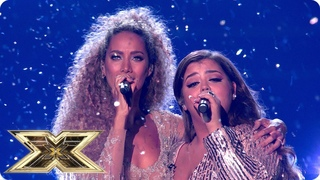 Scarlett duets with Leona Lewis   Final   The X Factor UK 2018