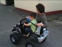 Kinderfahrzeug CROOZA Power Wheels OffRoad hardcore Test Mother Child - 4x4 Allrad Mutter mit Kind