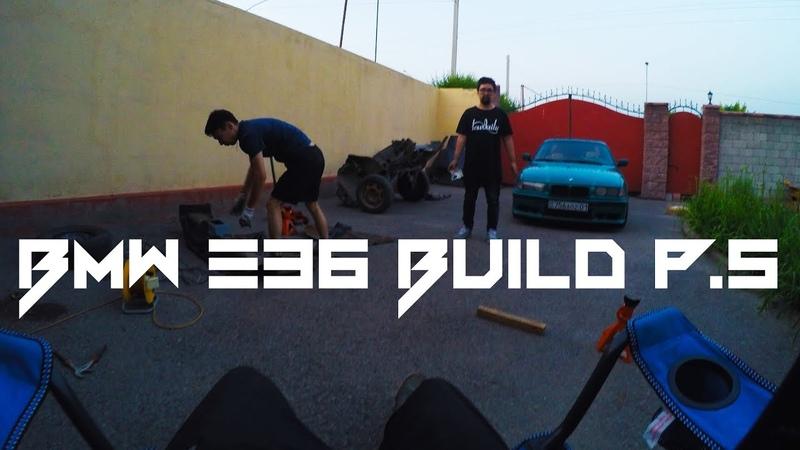BMW e36 build stance project p.5 | Короткоходная кулиса, резина на БМВ е36 | Fittedlow vlog s14