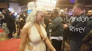 AVN Awards 2019 Red Carpet pt. 19 ft. London River Anna Bell Peaks Ginger Banks Sarah Jessie
