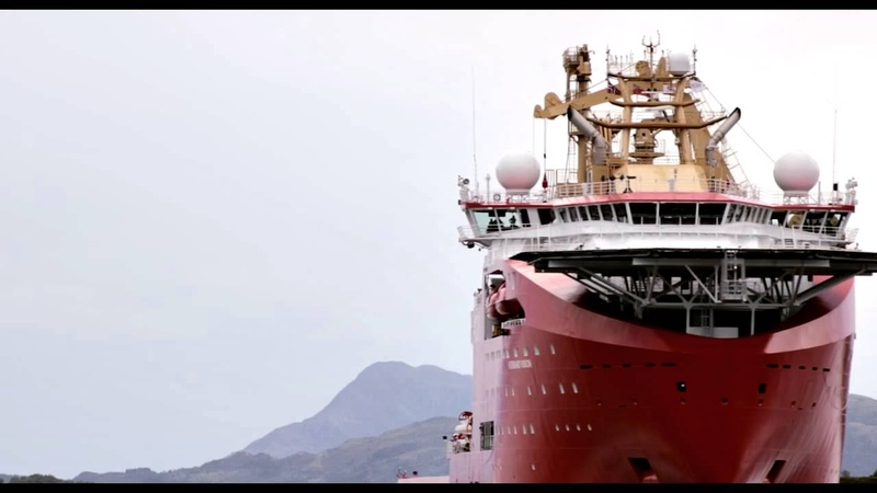 VARD 811 Normand Vision Leaving the Shipyard on Vimeo