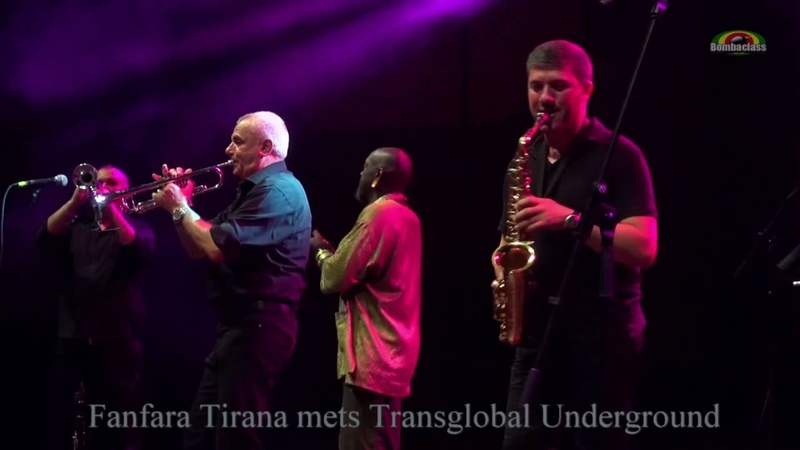 Fanfara Tirana mets Transglobal Underground Live @ WrocLove Fest 2016