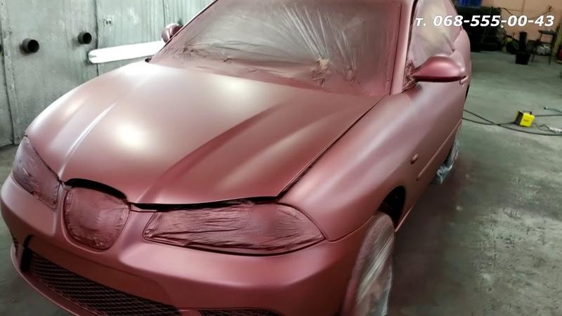 Seat Ibiza покраска жидкой резиной Dempinox (Демпинокс) Запорожье