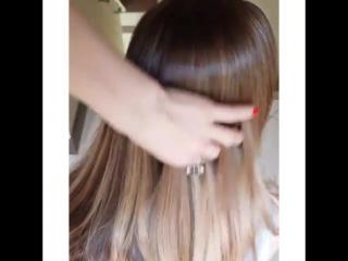 @ tigi_irk TiGi в ленту!!! Тонировали Glos 7.4+7.2+5volume+shampoo 7.4-медный7.2-фиолетовый.Как вам такой оттенок