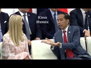 вопрос от китайца про грудь Иванка Трамп международный форум g20 в Осаке приколы 2019