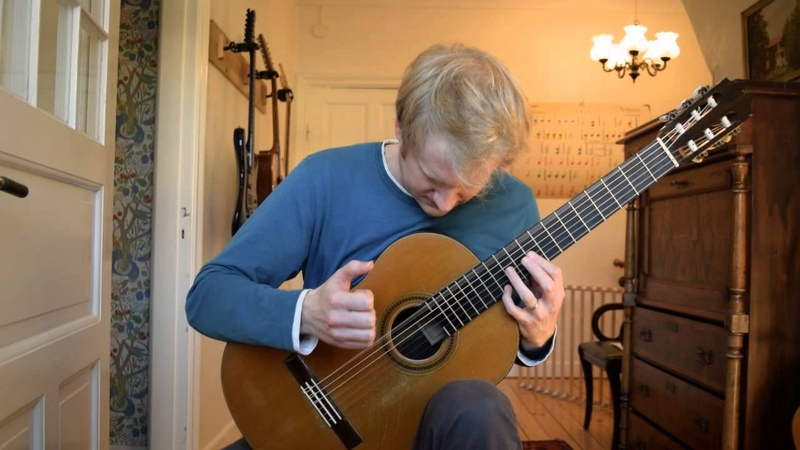 Maria Luisa Julio Salvador Sagreras Acoustic Classical Guitar Cover