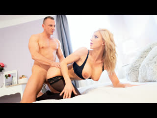 Nathaly cherie slow romantic fuck in stockings cage