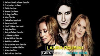 Lara Fabian,Celine Dion,Laura Pausini Greatest Hits 2019 - Top 100 Love Songs Of All Time