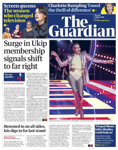 The Guardian  March 4 2019