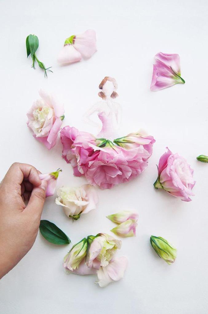 картинки акварель с живыми цветами отзыв