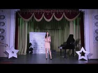 Мария Костюкова на годовом концерте