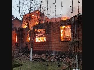 Николай Бандурин, пожар