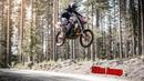 Streetbike ON DIRT - Suzuki GSX-R 1000cc INSANE MACHINE 52m JUMP!!