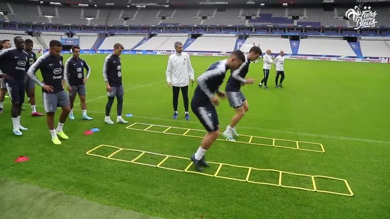 Veille de France-Turquie au Stade de France, Equipe de France I FFF 219