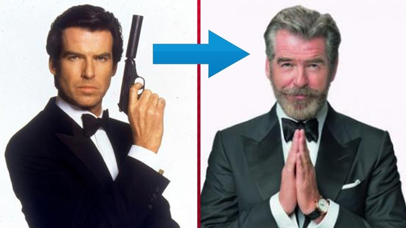 Pierce Brosnan James Bond From 1 To 64 Years Old