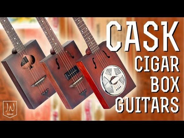 Cask Cigar Box Guitars by JN Guitars