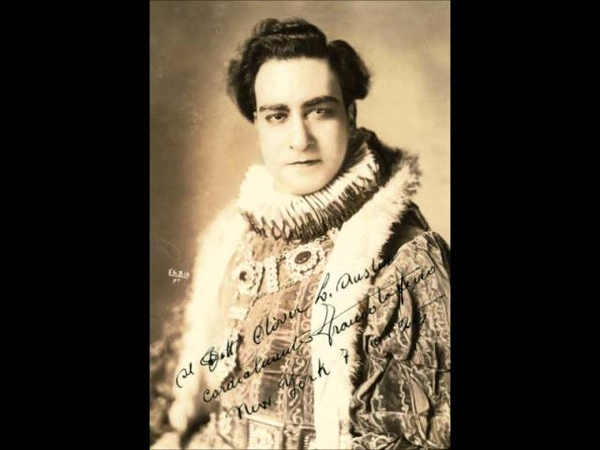 Franco Tafuro: Ah, non v'avvicinate... Pazzo son (Manon Lescaut - Puccini) 1930