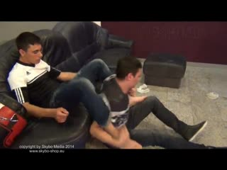 [480] Young Masters Feet - Alex vs. Basti (Skybo) (Wrestling)