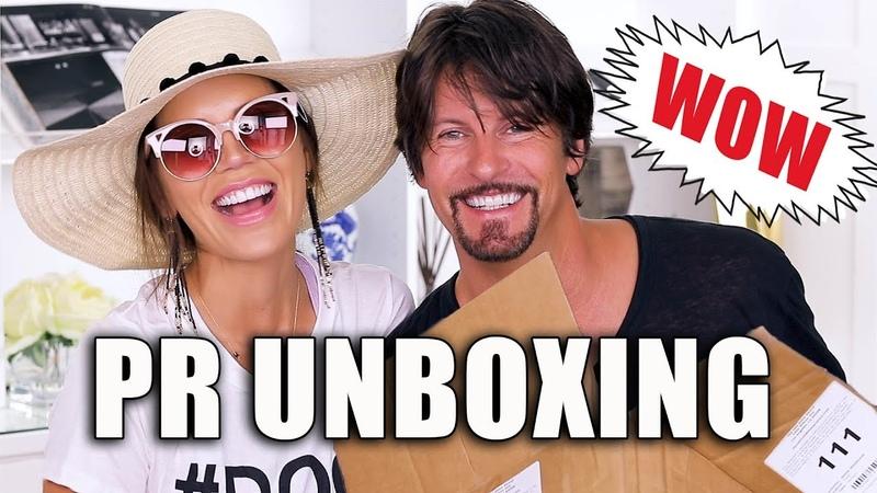 FREE STUFF BEAUTY GURUS GET | Unboxing PR Packages ... Episode 6