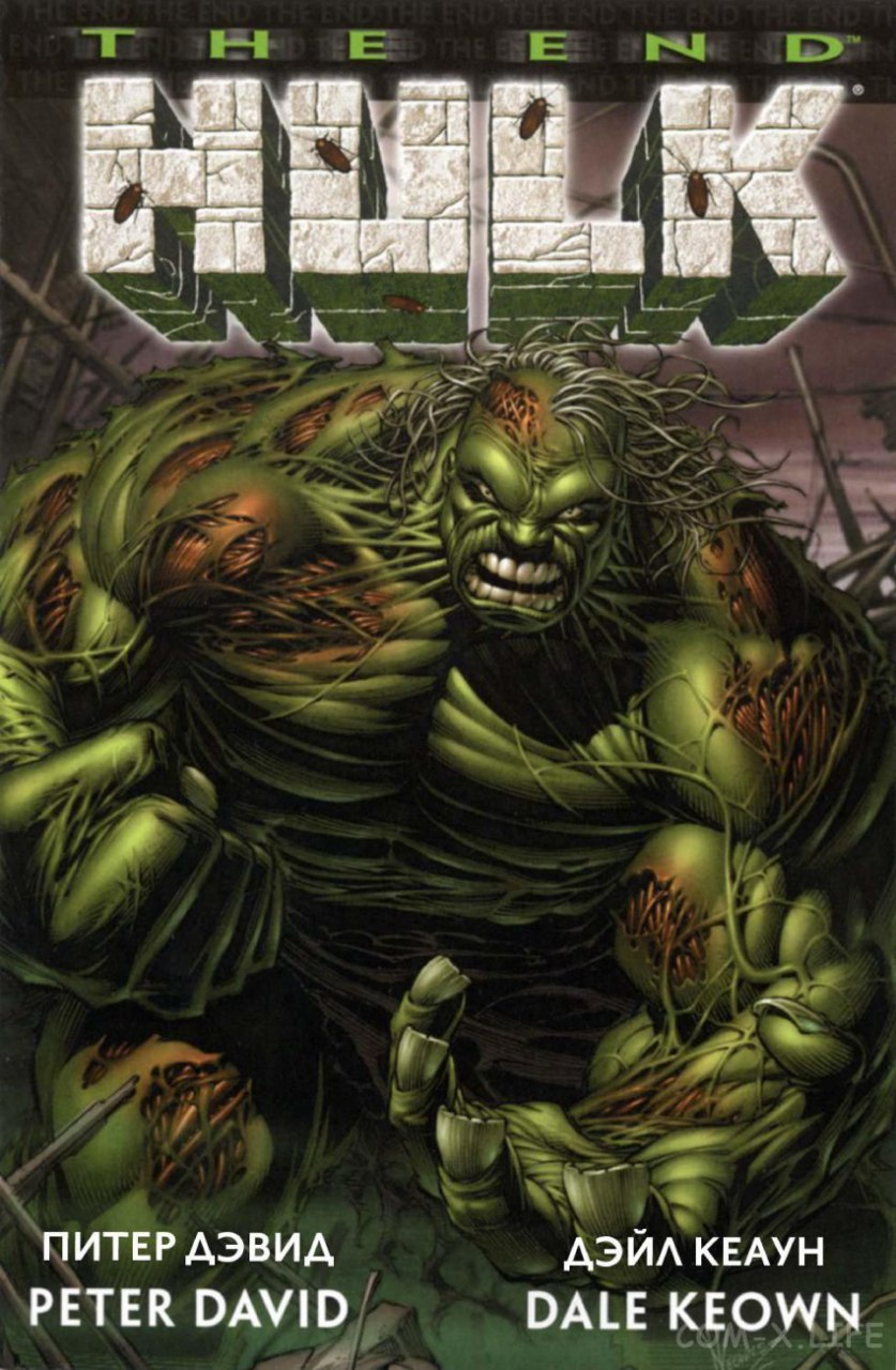 The End Hulk.