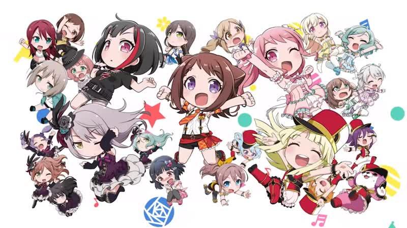Kasumi × Ran × Aya × Yukina × Kokoro Picotto Papitto GARUPA☆PICO