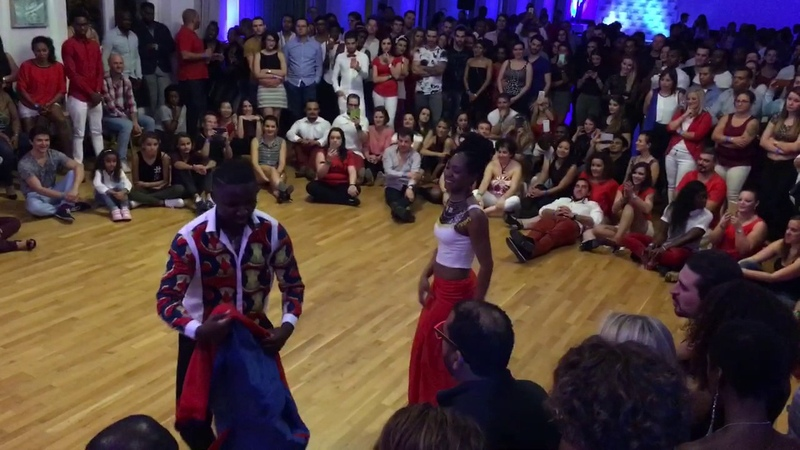 Jamba Adorée show, Swiss Kizomba Meeting 2016