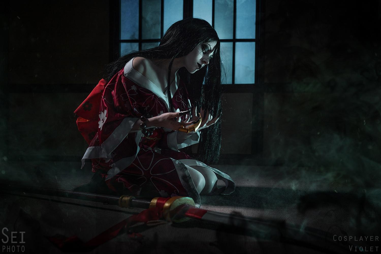 Хисако (Hisako) - Мстительный призрак из Killer Instinct cosplay