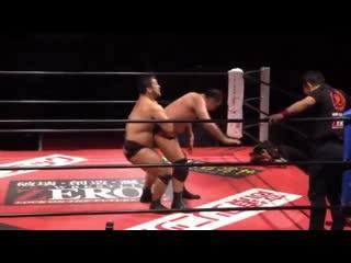 Daisuke Sekimoto vs. Shinjiro Otani (ZERO1 Fire Festival 2019 - Tag 2)