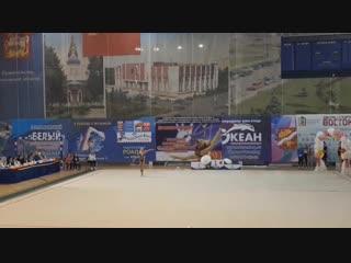 Полина Орлова - обруч (многоборье) // Первенство МО 2019, Орехово-Зуево