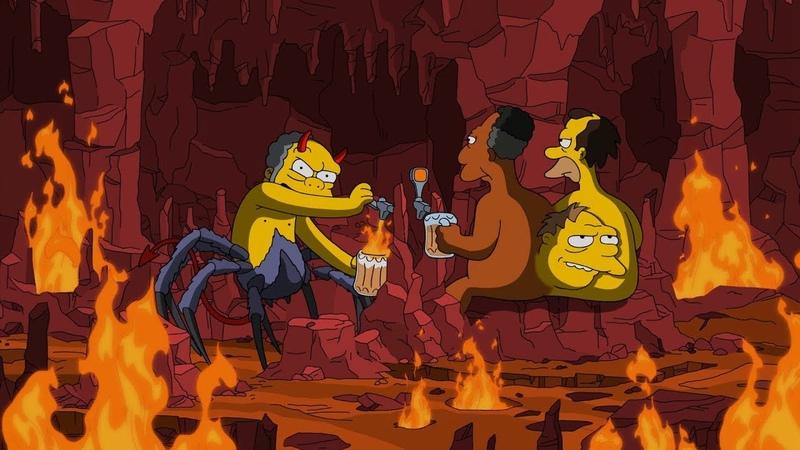 Симпсоны ПЛАМЕННЫЙ МО