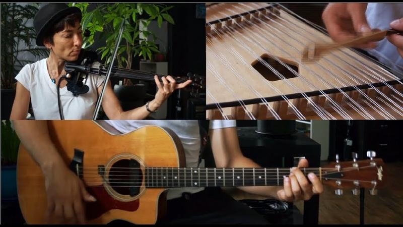 Michael Hedges - Spare Change (Guitar, Violin, Hammered Dulcimer)