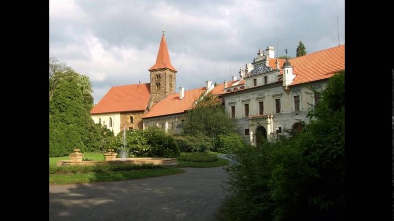 Замок Пругонице. Чехия.